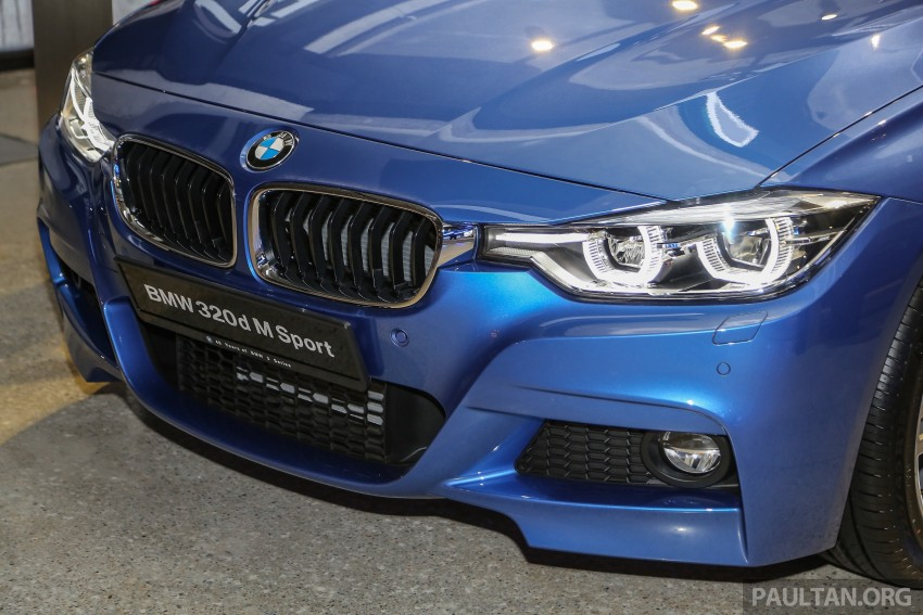 F30 BMW 3 Series LCI launched in Malaysia – 3-cyl 318i, 320i, 320d and 330i from RM209k to RM309k Image #407162