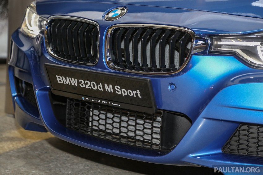 F30 BMW 3 Series LCI launched in Malaysia – 3-cyl 318i, 320i, 320d ...