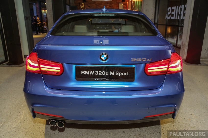 F30 BMW 3 Series LCI launched in Malaysia – 3-cyl 318i, 320i, 320d and 330i from RM209k to RM309k Image #407172