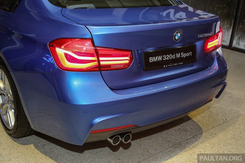 F30 BMW 3 Series LCI launched in Malaysia – 3-cyl 318i, 320i, 320d and 330i from RM209k to RM309k Image #407174