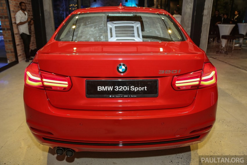 F30 BMW 3 Series LCI launched in Malaysia – 3-cyl 318i, 320i, 320d and 330i from RM209k to RM309k Image #407126