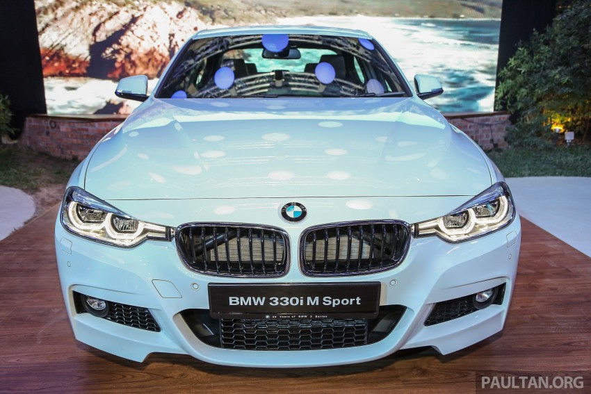 F30 BMW 3 Series LCI launched in Malaysia – 3-cyl 318i, 320i, 320d and 330i from RM209k to RM309k Image #407207