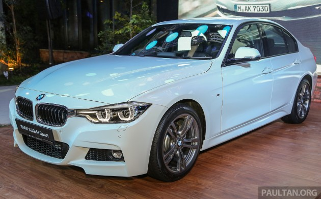 BMW Series Facelift Launched In Malaysia - Bmw 321i