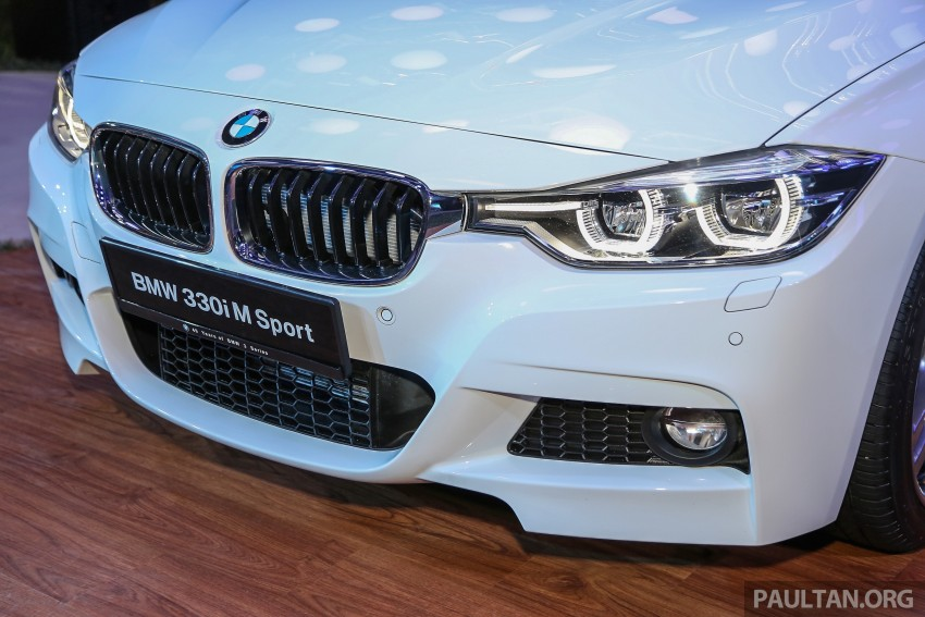 F30 BMW 3 Series LCI launched in Malaysia – 3-cyl 318i, 320i, 320d and 330i from RM209k to RM309k Image #407209