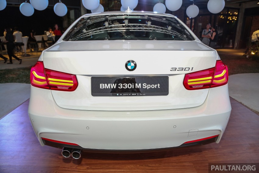 F30 BMW 3 Series LCI launched in Malaysia – 3-cyl 318i, 320i, 320d and 330i from RM209k to RM309k Image #407218