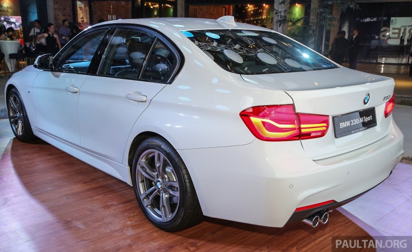 F30 BMW 3 Series LCI launched in Malaysia – 3-cyl 318i, 320i, 320d and 330i from RM209k to RM309k Image #407219