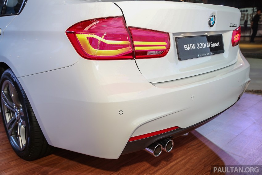 F30 BMW 3 Series LCI launched in Malaysia – 3-cyl 318i, 320i, 320d and 330i from RM209k to RM309k Image #407220