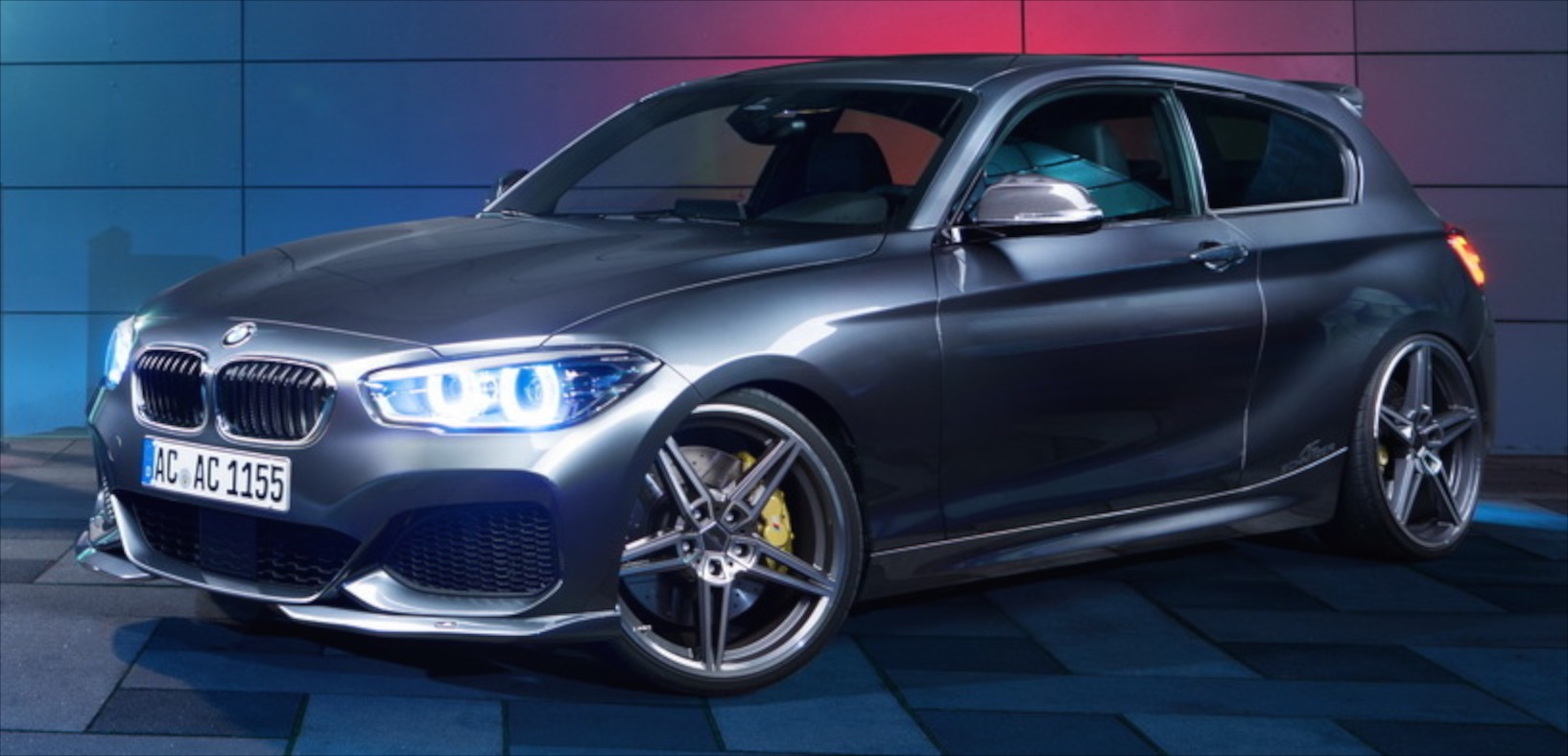 f20 bmw 1 series with 400 ps 800 nm by ac schnitzer. Black Bedroom Furniture Sets. Home Design Ideas
