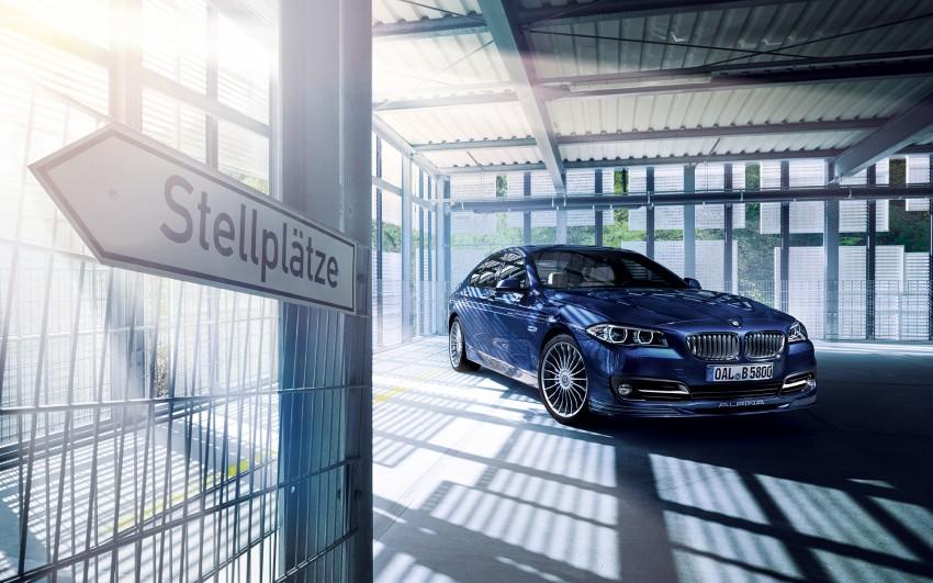 New Alpina B5 Biturbo debuts – packs 600 hp, 800 Nm Image #411221