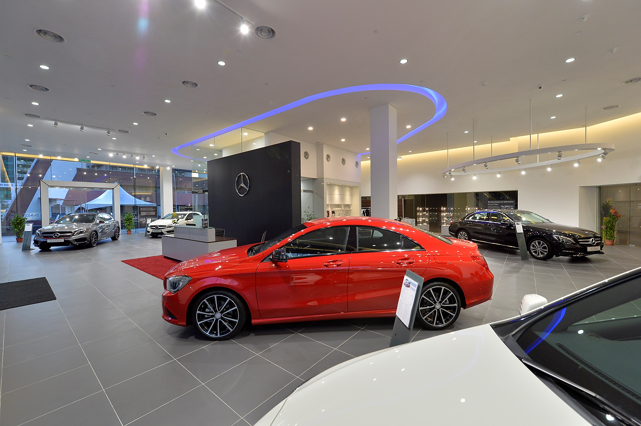 Mercedes benz malaysia and hap seng star open new rm2 for 2 5 million mercedes benz