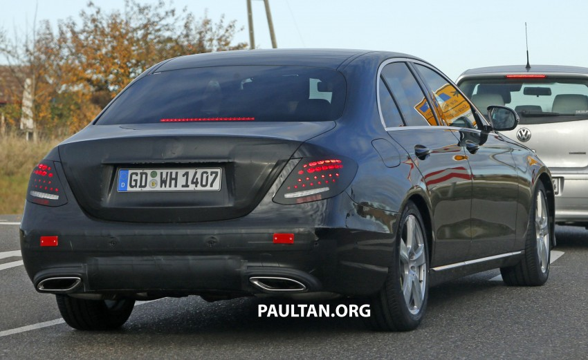SPIED: W213 Mercedes-Benz E-Class is almost naked Image #407397