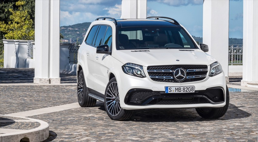 Mercedes-Benz GLS debuts – the S-Class among SUVs Image #402017