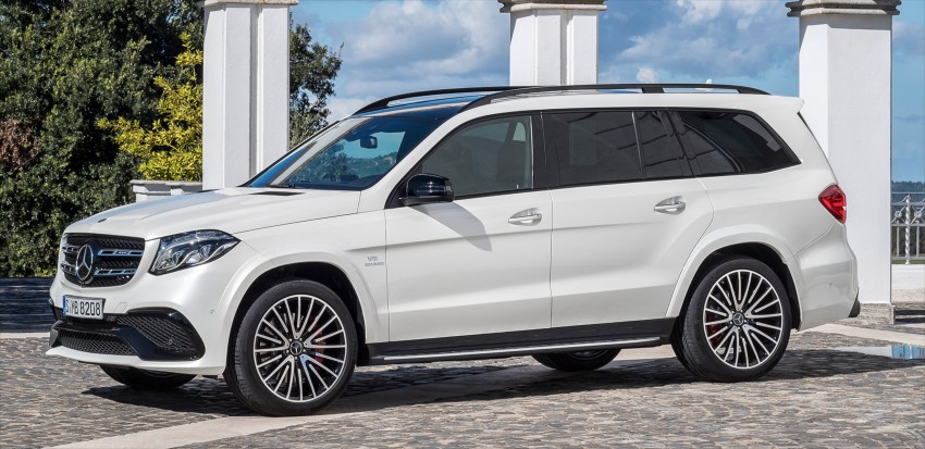 Mercedes-Benz GLS debuts – the S-Class among SUVs Image #402018