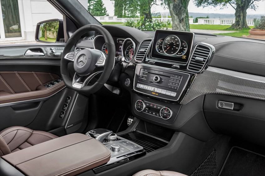 Mercedes-Benz GLS debuts – the S-Class among SUVs Image #402019