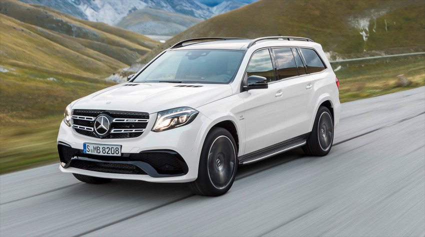 Mercedes-Benz GLS debuts – the S-Class among SUVs Image #402020