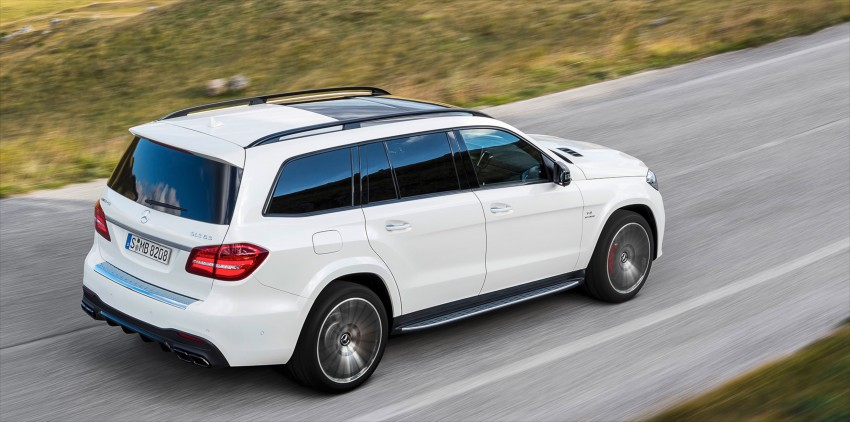 Mercedes-Benz GLS debuts – the S-Class among SUVs Image #402022