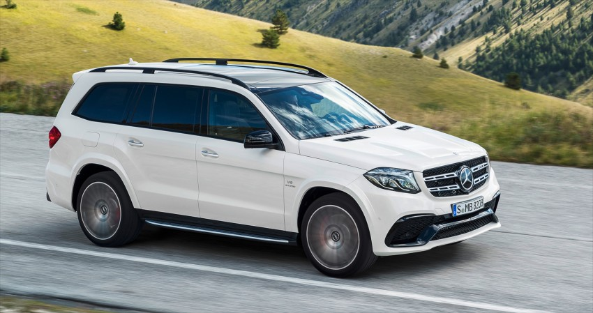 Mercedes-Benz GLS debuts – the S-Class among SUVs Image #402023