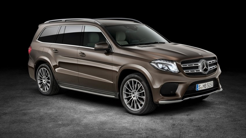 Mercedes-Benz GLS debuts – the S-Class among SUVs Image #402025