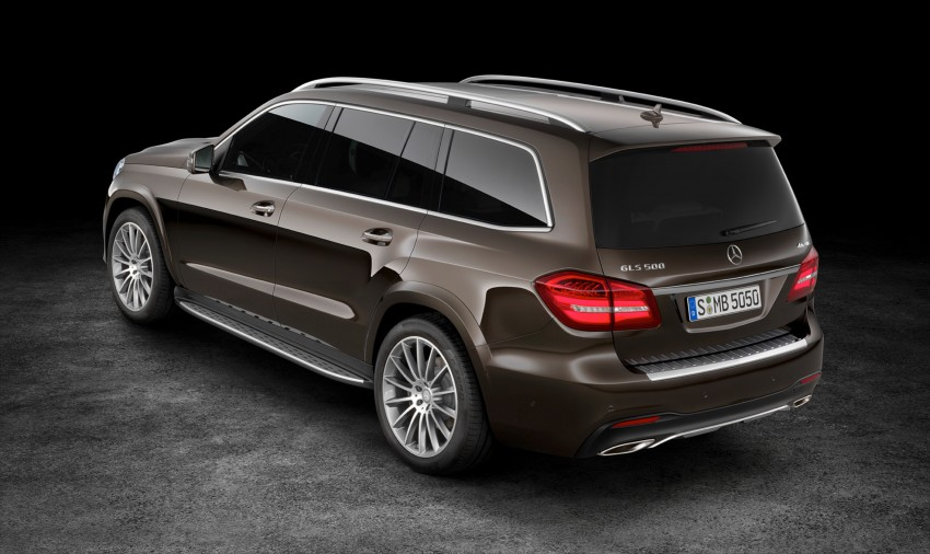 Mercedes-Benz GLS debuts – the S-Class among SUVs Image #402026