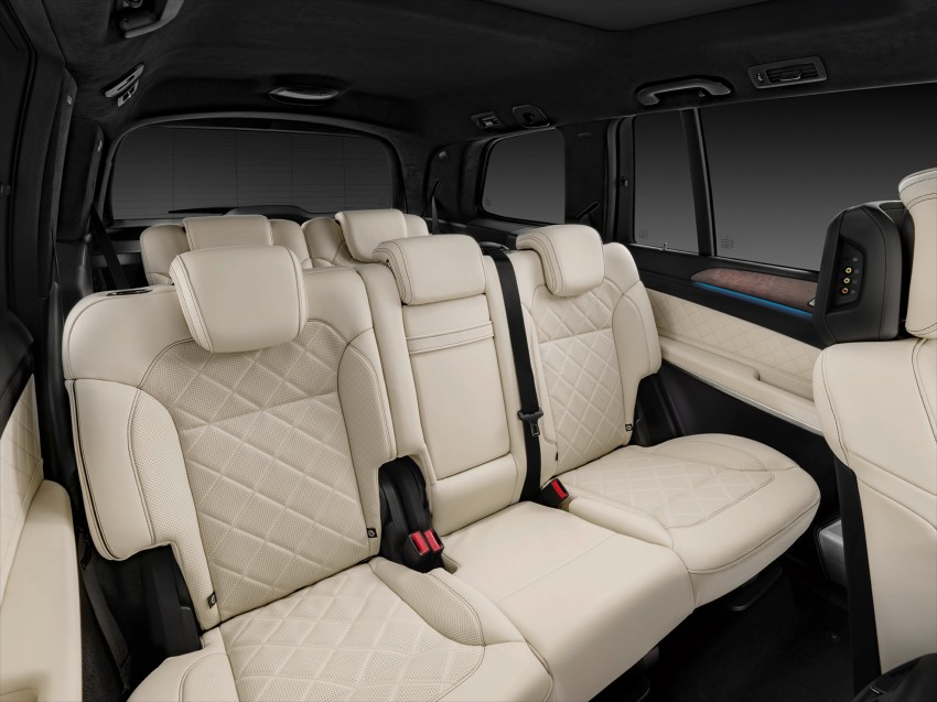 Mercedes-Benz GLS debuts – the S-Class among SUVs Image #402032