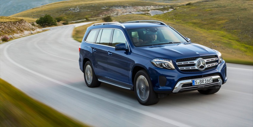 Mercedes-Benz GLS debuts – the S-Class among SUVs Image #402033