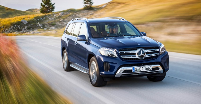 Mercedes-Benz GLS debuts – the S-Class among SUVs Image #402034