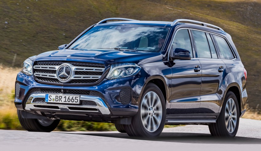 Mercedes-Benz GLS debuts – the S-Class among SUVs Image #402035
