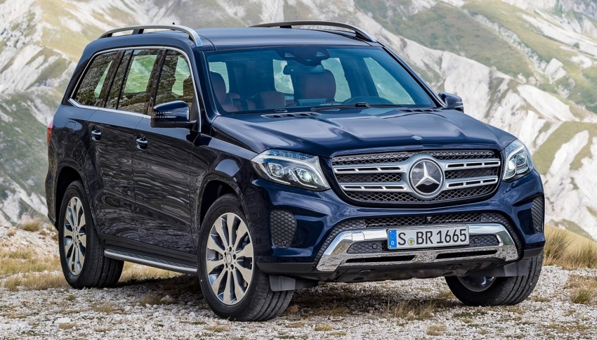 Mercedes-Benz GLS debuts – the S-Class among SUVs Image #402036