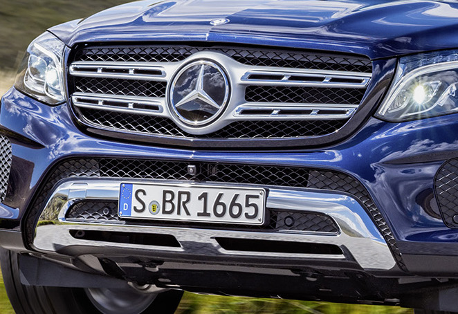 Mercedes-Benz GLS debuts – the S-Class among SUVs Image #402170