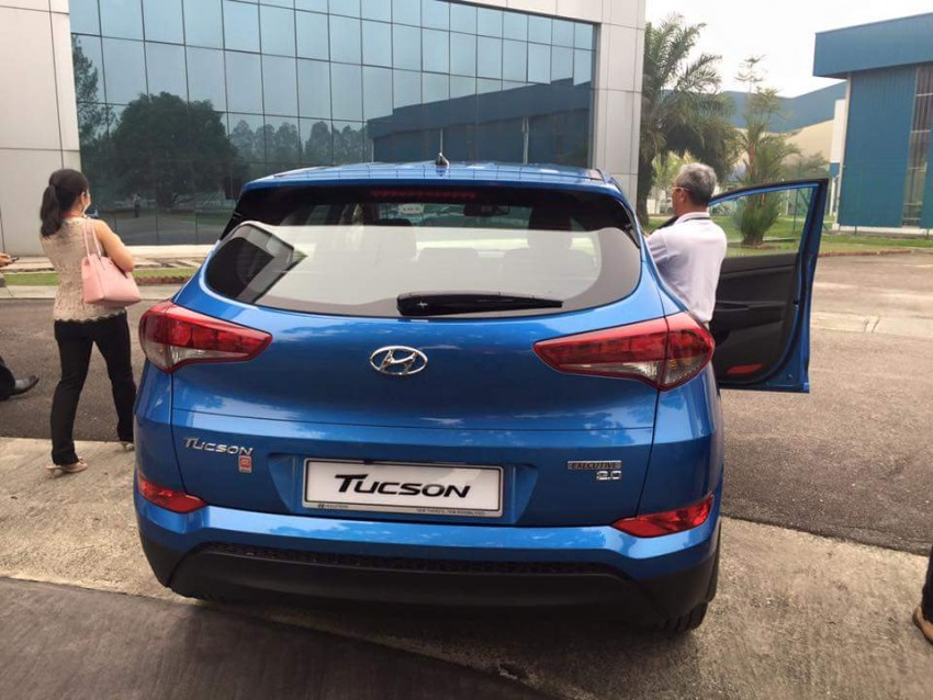 2016 Hyundai Tucson preliminary specs announced – two trims, estimated prices from RM130k to RM144k Image #400909