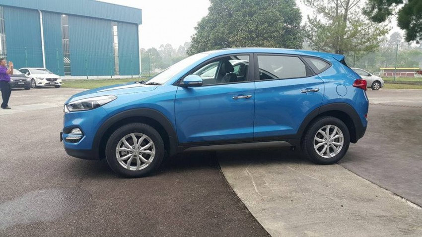 2016 Hyundai Tucson preliminary specs announced – two trims, estimated prices from RM130k to RM144k Image #400913