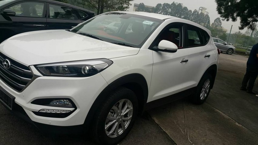 2016 Hyundai Tucson preliminary specs announced – two trims, estimated prices from RM130k to RM144k Image #400914
