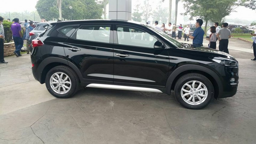2016 Hyundai Tucson preliminary specs announced – two trims, estimated prices from RM130k to RM144k Image #400915