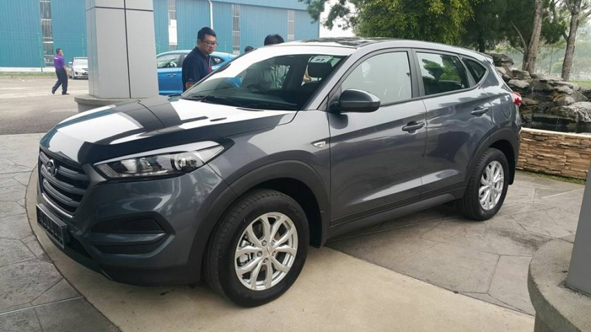 2016 Hyundai Tucson preliminary specs announced – two trims, estimated prices from RM130k to RM144k Image #400917