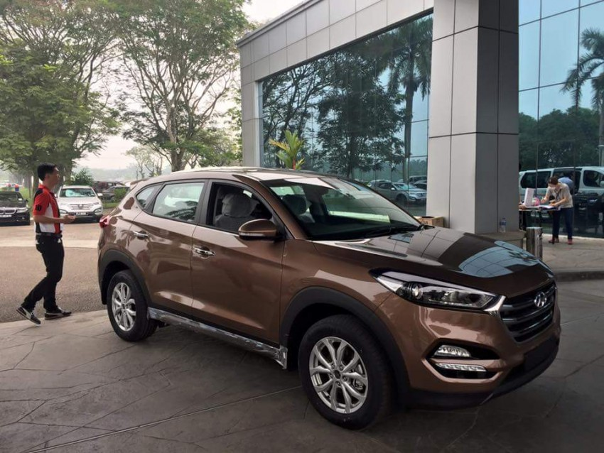 2016 Hyundai Tucson preliminary specs announced – two trims, estimated prices from RM130k to RM144k Image #400919