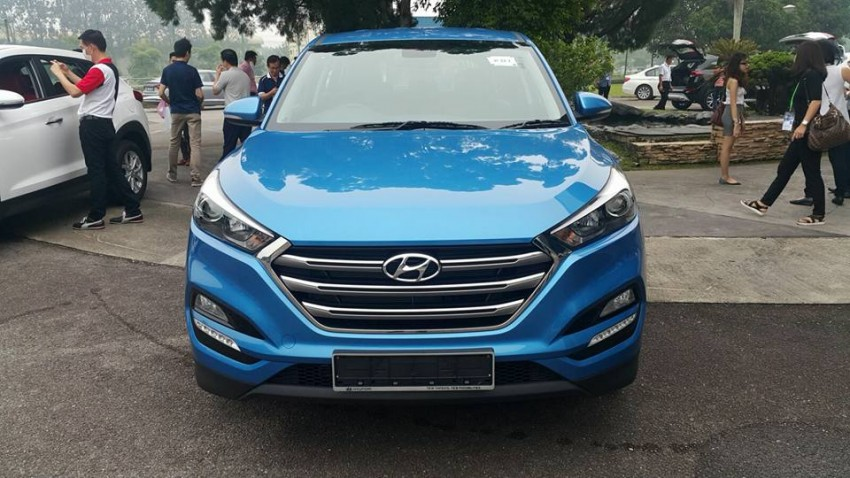 2016 Hyundai Tucson preliminary specs announced – two trims, estimated prices from RM130k to RM144k Image #400923
