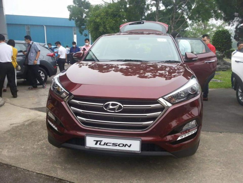 2016 Hyundai Tucson preliminary specs announced – two trims, estimated prices from RM130k to RM144k Image #400926