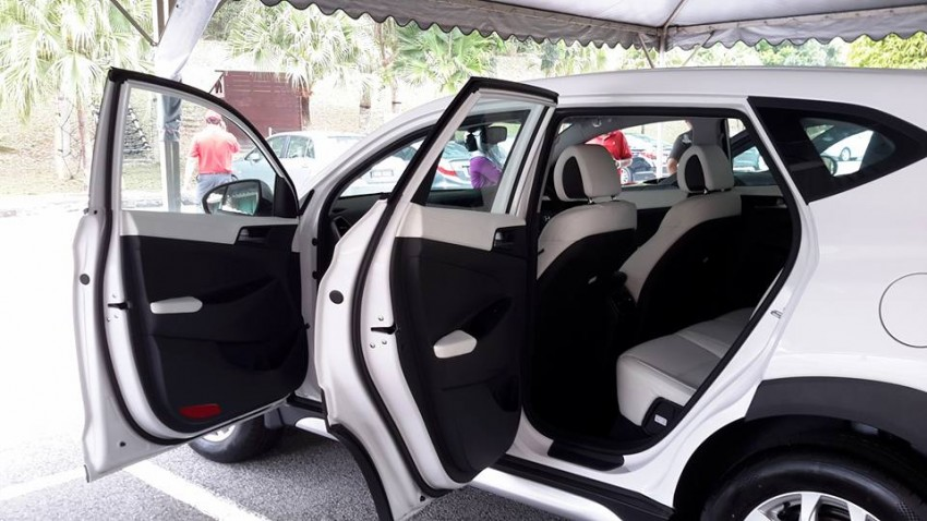 2016 Hyundai Tucson preliminary specs announced – two trims, estimated prices from RM130k to RM144k Image #400901