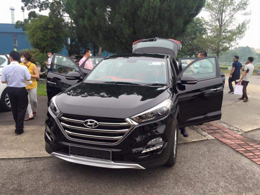 2016 Hyundai Tucson preliminary specs announced – two trims, estimated prices from RM130k to RM144k Image #400903