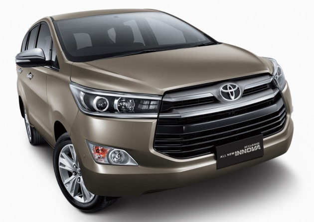 2016 Toyota Innova officially revealed in Indonesia