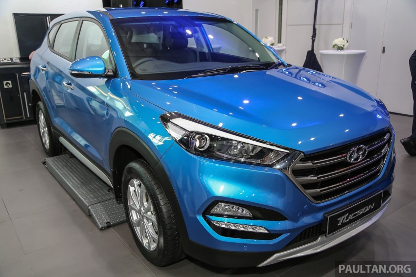 2016 hyundai tucson launched in malaysia 2 0l elegance and executive trims from rm126k paul. Black Bedroom Furniture Sets. Home Design Ideas