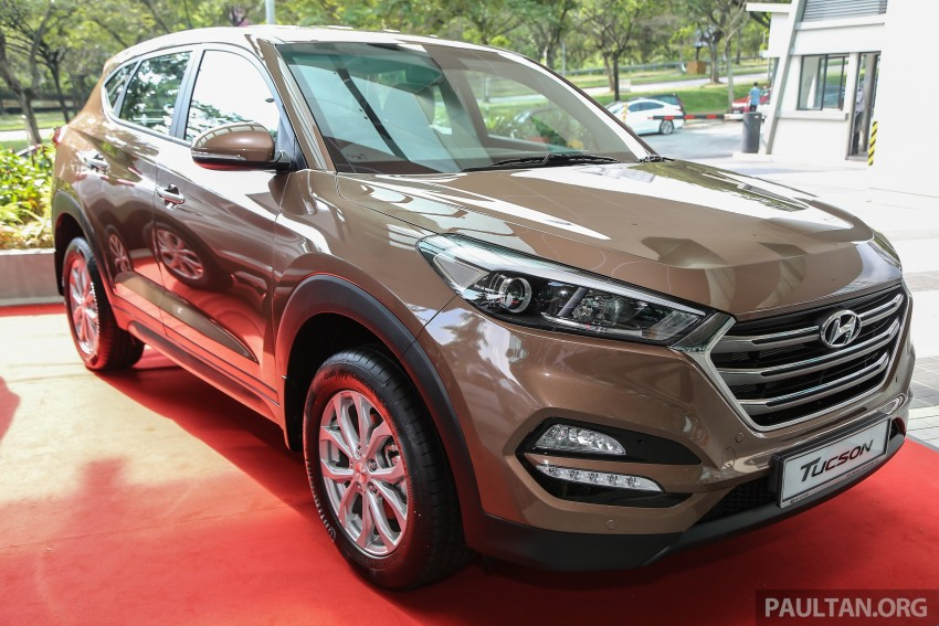 2016 hyundai tucson launched in malaysia 2 0l elegance and executive trims from rm126k image