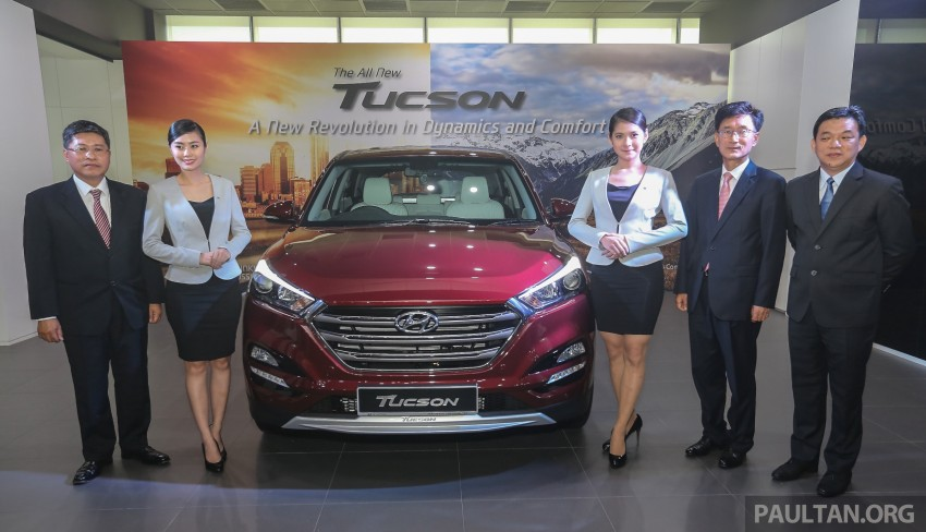 2016 Hyundai Tucson launched in Malaysia – 2.0L, Elegance and Executive trims, from RM126k Image #406733