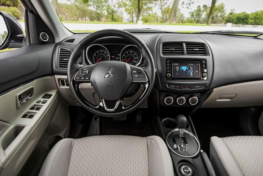 LA 2015: Mitsubishi ASX facelifted for the US market Image #409599