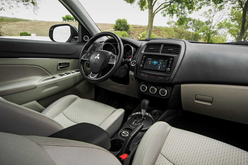 LA 2015: Mitsubishi ASX facelifted for the US market Image #409602