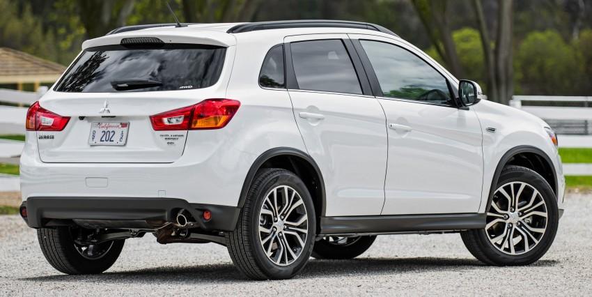 LA 2015: Mitsubishi ASX facelifted for the US market Image #409686