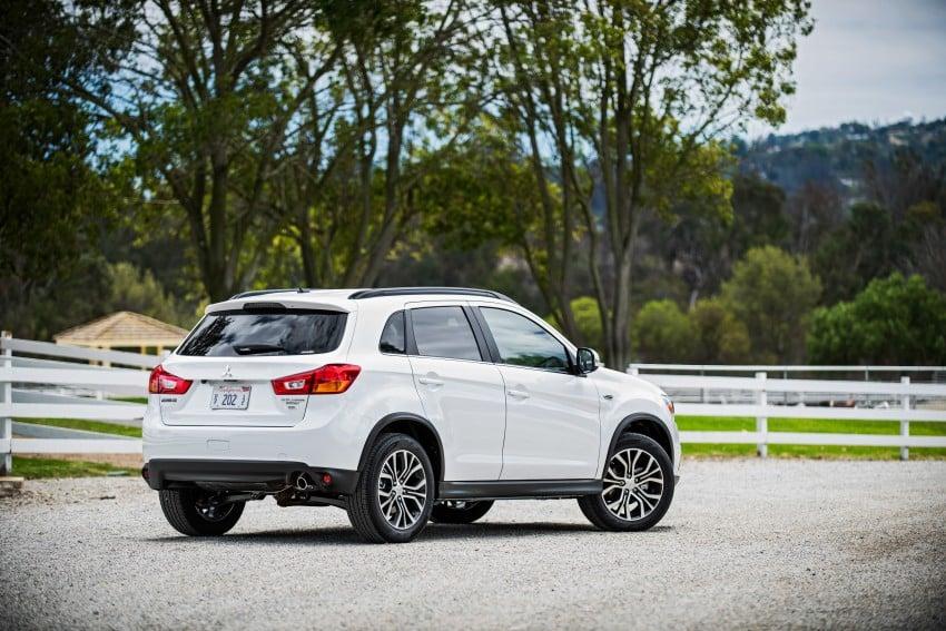 LA 2015: Mitsubishi ASX facelifted for the US market Image #409687