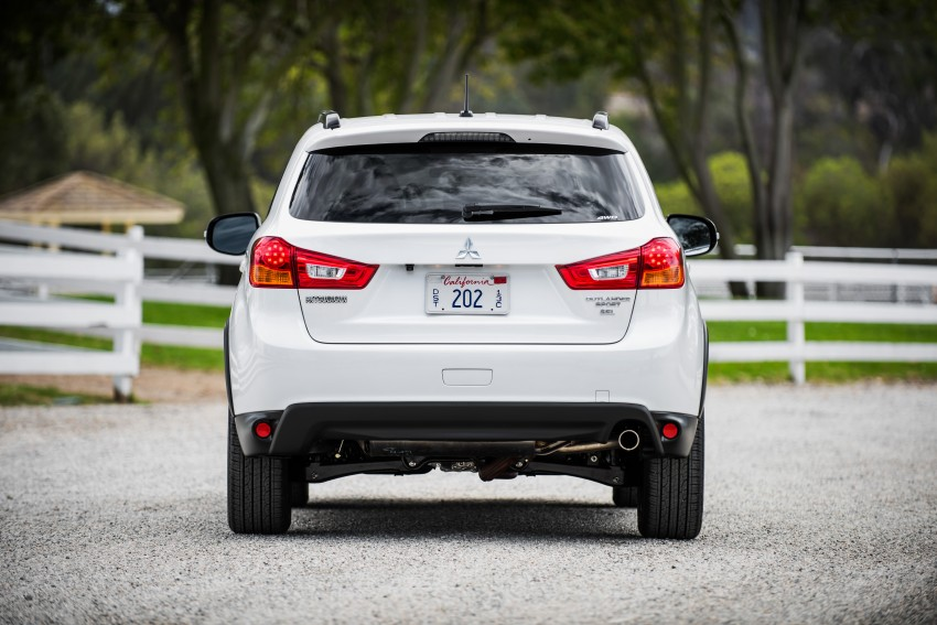 LA 2015: Mitsubishi ASX facelifted for the US market Image #409688