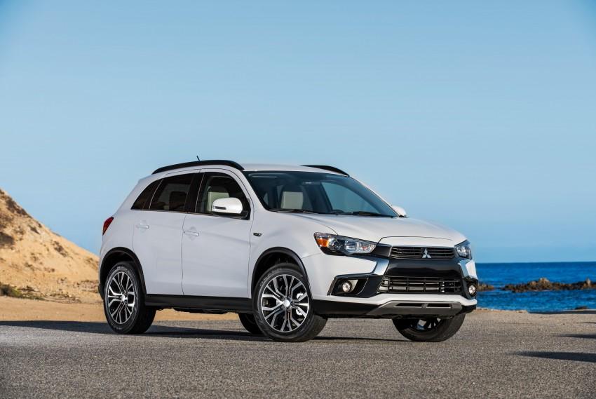 LA 2015: Mitsubishi ASX facelifted for the US market Image #409692