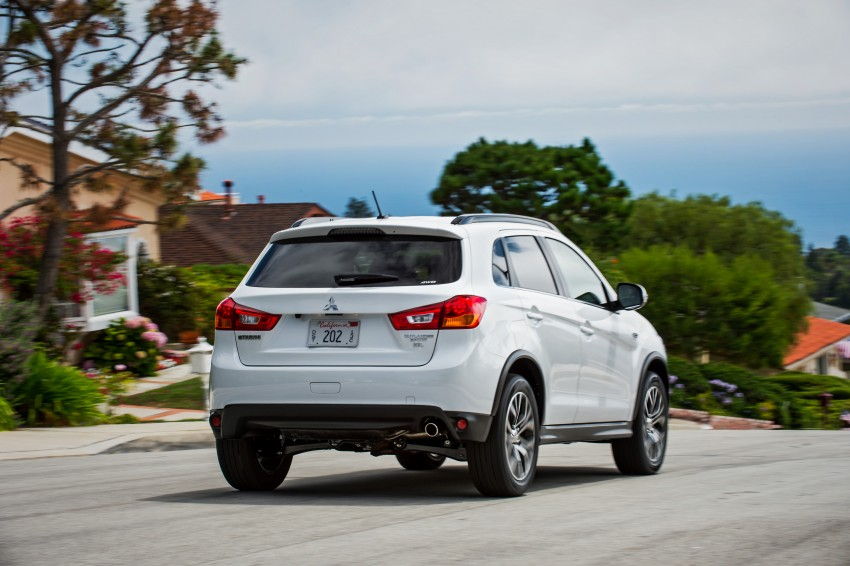 LA 2015: Mitsubishi ASX facelifted for the US market Image #409697
